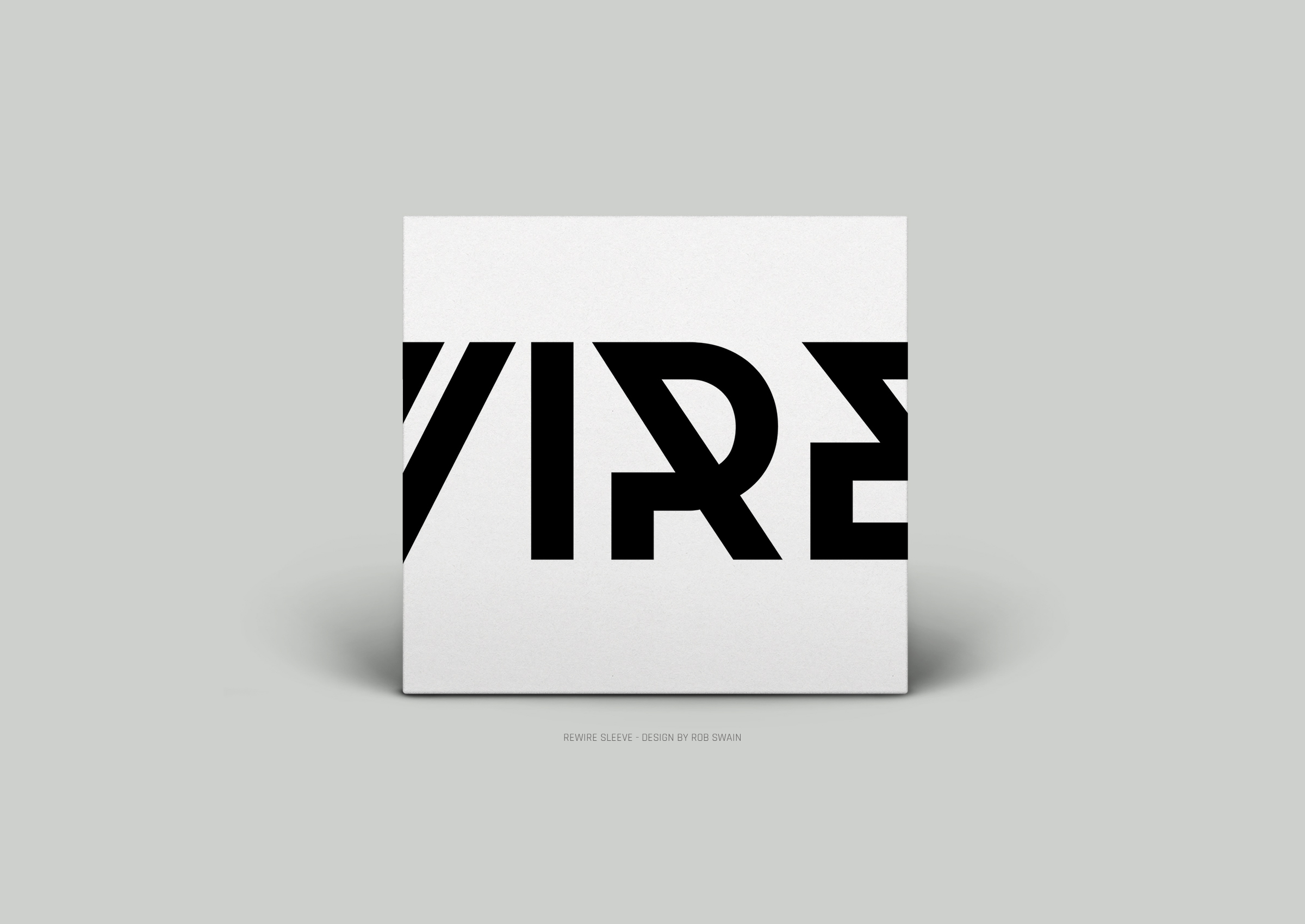 Rewire Record Sleeve