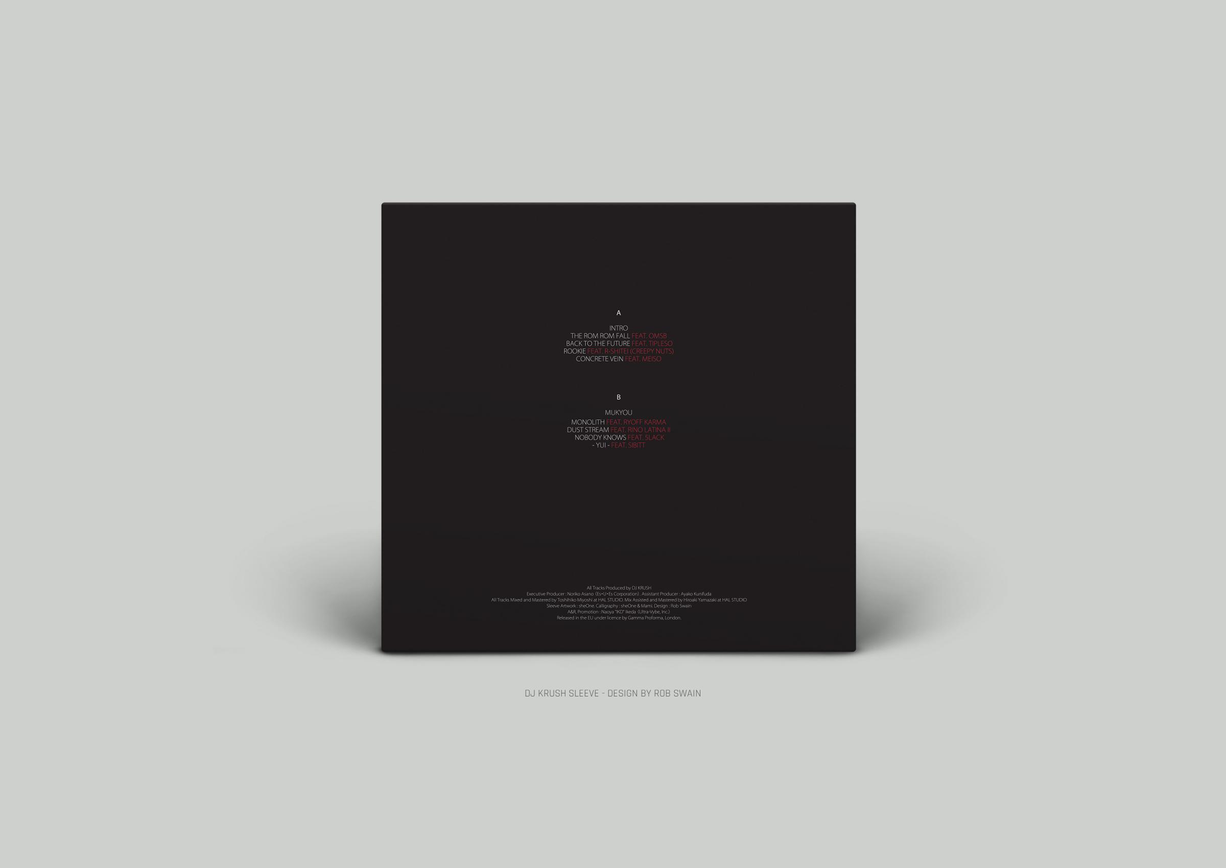 DJ Krush -Kiseki Record Sleeve