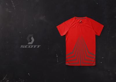 Scott Sports Shirt Designed by Rob Swain