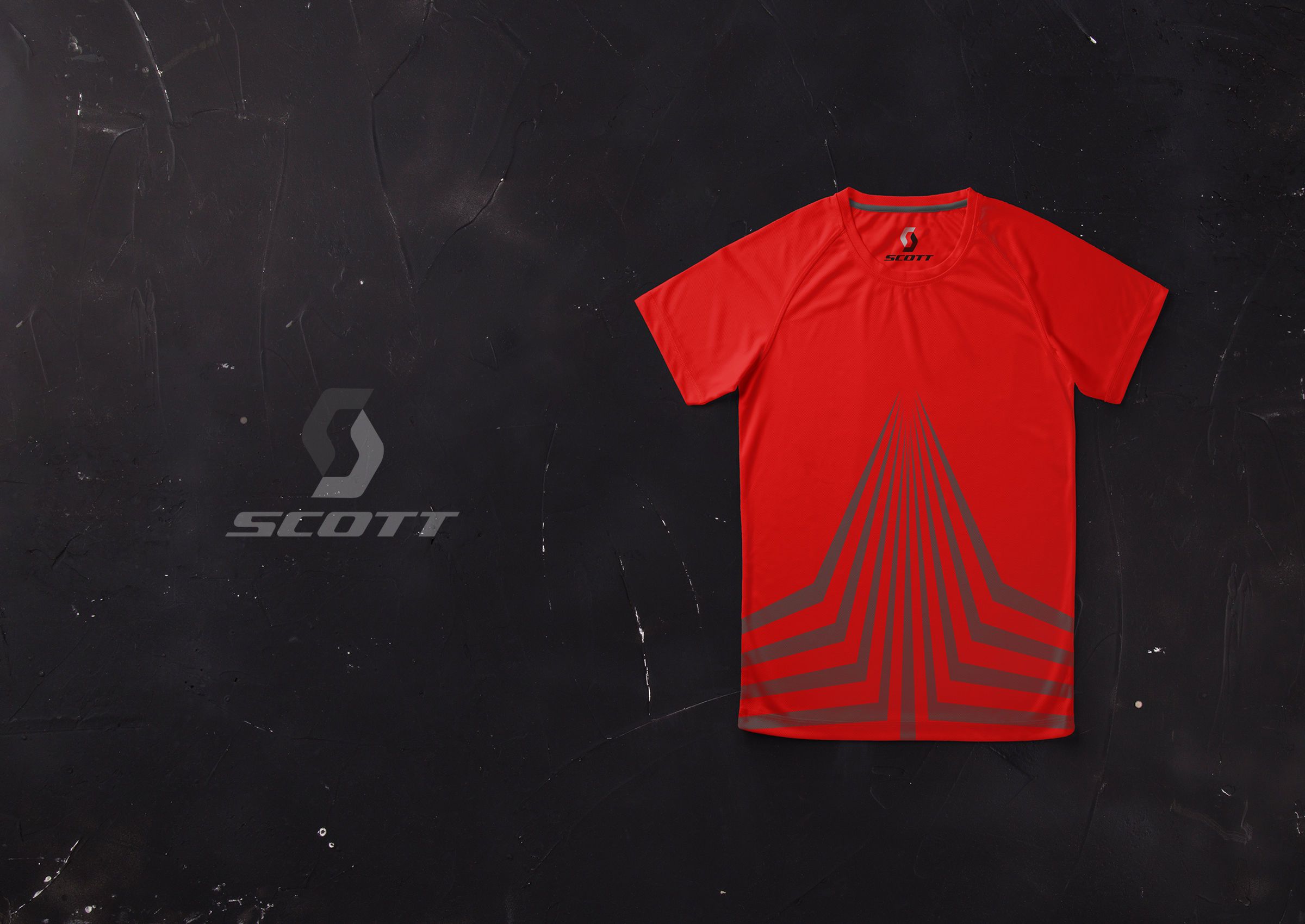 Scott Sports Shirt Designed by Rob Swain