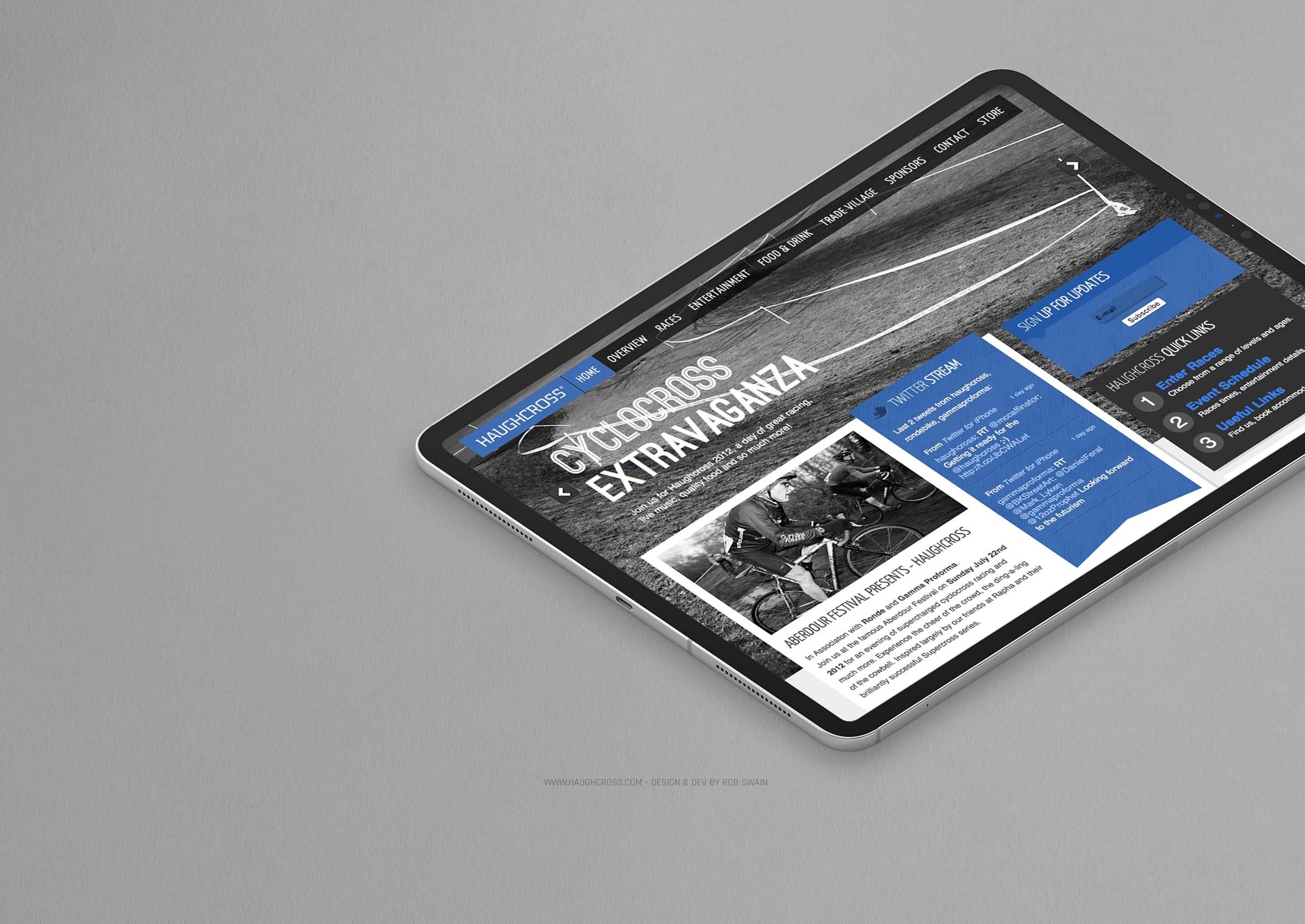 Haughcross Website Design